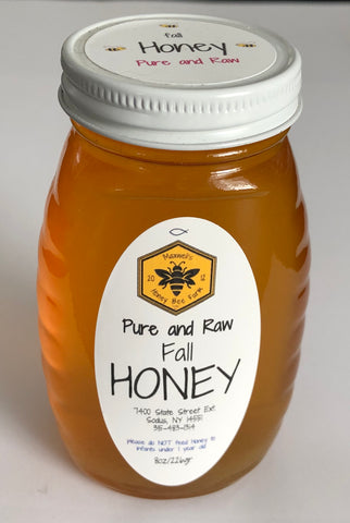 Fall Honey - 8 oz. jar