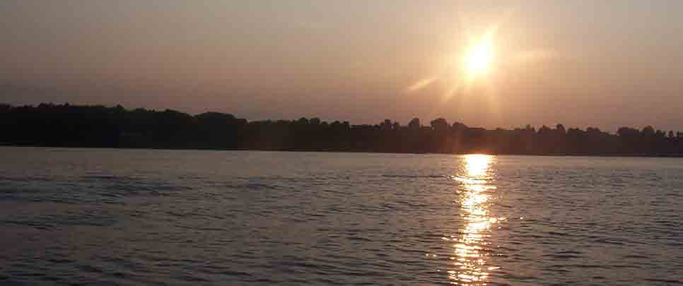 Sunset on Sodus Bay