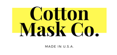 Cotton Mask Co Made in USA Logo - washable cotton face masks