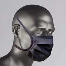 Load image into Gallery viewer, Black Cotton Face Mask