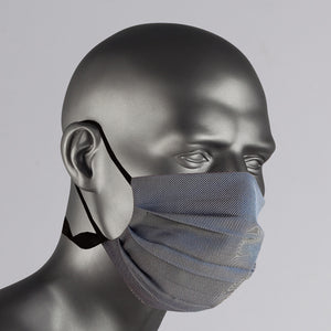 Gray Cotton Over The Ear Face Mask