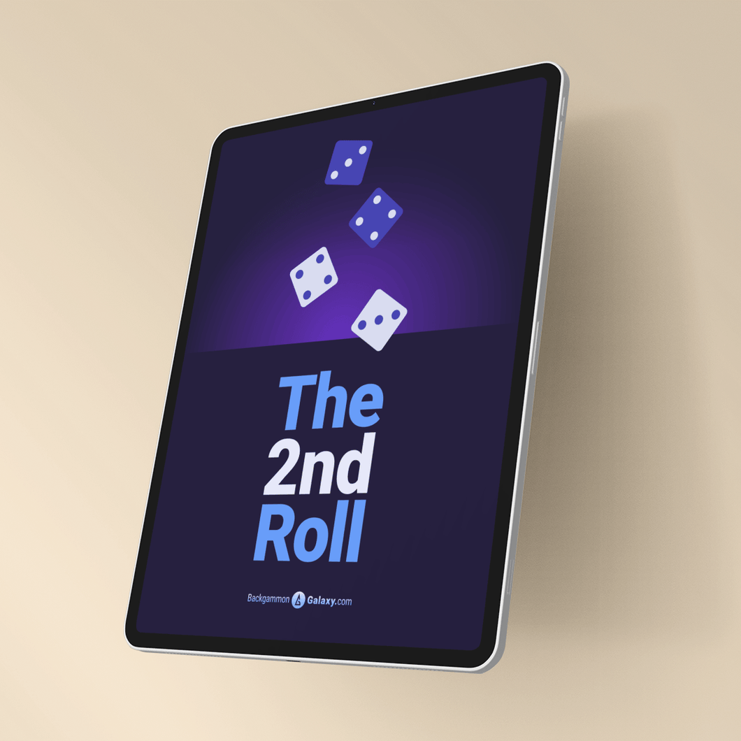 Backgammon ebook - The 2nd Roll - Backgammon Galaxy