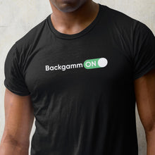 Load image into Gallery viewer, Backgamm ON T-shirt - Backgammon Galaxy