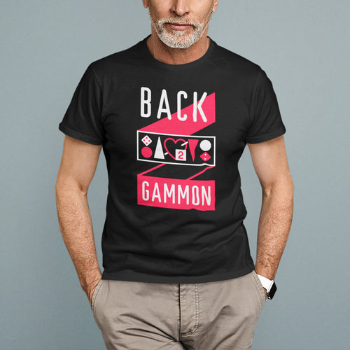 Backgammon T-shirt, Unisex - Backgammon Galaxy