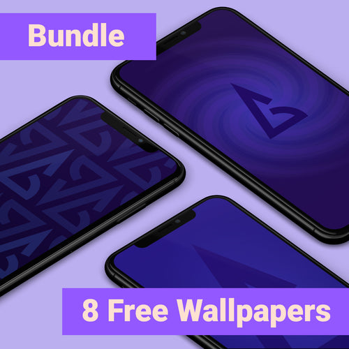 Phone Wallpaper Bundle - Backgammon Galaxy