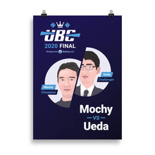 画像をギャラリービューアに読み込む, UBC 2020 Final (Official Event Poster) - Backgammon Galaxy