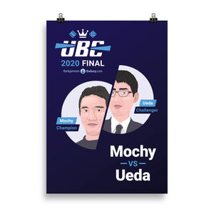 UBC 2020 Final (Official Event Poster) - Backgammon Galaxy