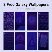 Load image into Gallery viewer, Phone Wallpaper Bundle - Backgammon Galaxy