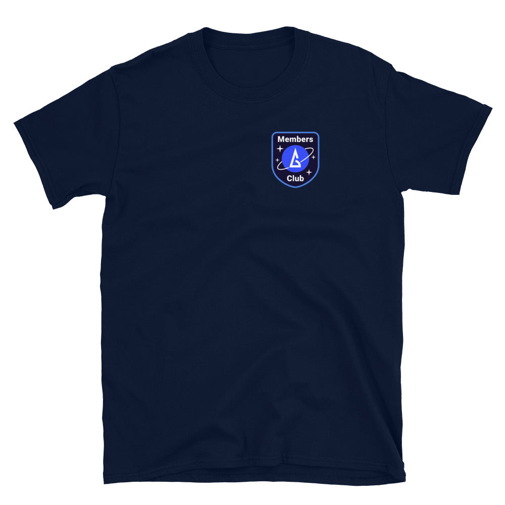 Galaxy Members Club T-shirt - Backgammon Galaxy