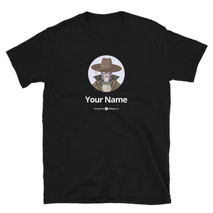 "Original Avatar Unisex T-shirt ""Twentytwo"" (Custom Name) - Backgammon Galaxy"