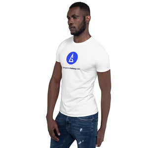 The Official Backgammon Galaxy T-Shirt (white) - Backgammon Galaxy