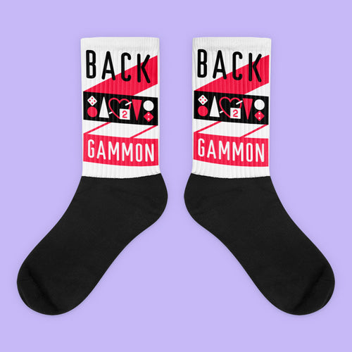 Backgammon Socks - Backgammon Galaxy