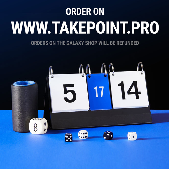 TakePoint Backgammon Scoreboard - Backgammon Galaxy