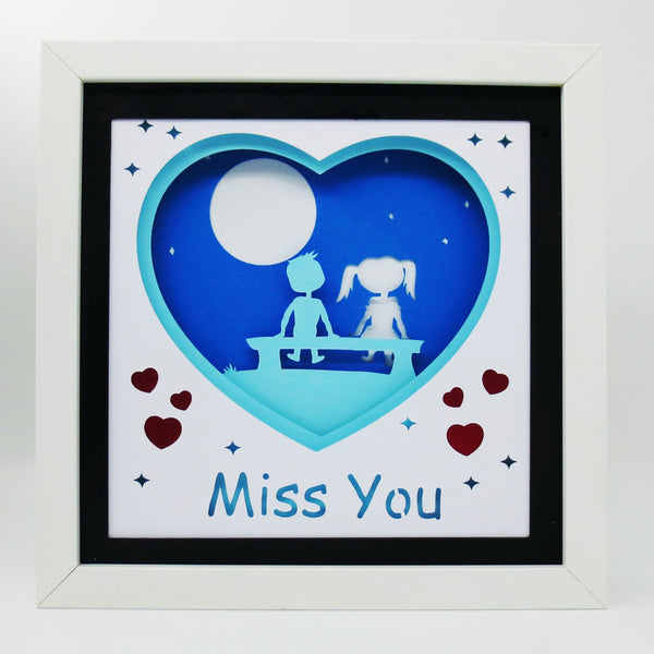 Miss you - Build your own lightbox