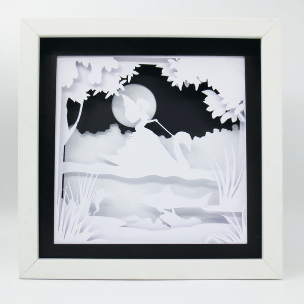 Swan Fairy - Build your own lightbox