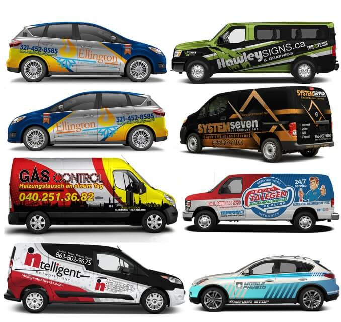 I will create eye catching professional car wrap design your vehicle.