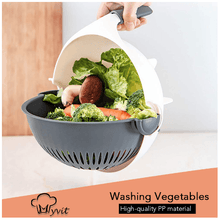 Load image into Gallery viewer, 9 in 1 Vegetable Chopper with Strainer - Smart Widget