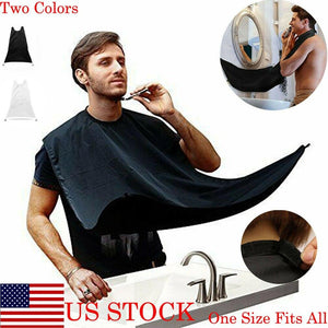 Looking Great Beard Apron - Waterproof Shaver Hair Cleaner - Smart Widget