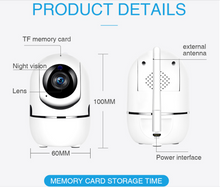 Load image into Gallery viewer, 1080P Cloud IP Home Security Surveillance Camera - Smart Widget