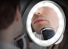 Load image into Gallery viewer, 10X Magnifying LED Makeup Shaving Mirror - Smart Widget