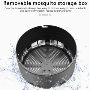USB Powered LED Mosquito Zapper Lamp [QUIET + NON-TOXIC] - Smart Widget