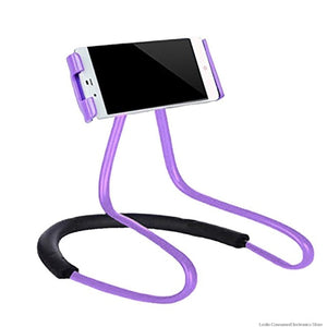 Mobile Phone Holder Flexible Hanging Neck Lazy Necklace Bracket Smartphone shoulder Stand For iPhone - Smart Widget
