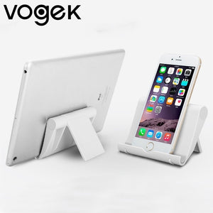Vogek Foldable Plastic Phone Stand Holder Base for iPhone X XR for Samsung S10 S10+ Smartphone - Smart Widget
