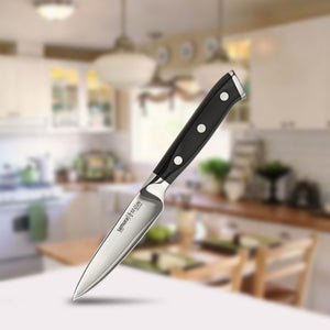 3 Layers AUS-10 Japanese HC Steel Fruit Pelling Kitchen Knife - Smart Widget