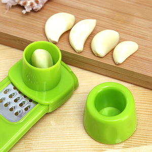 Candy Color Kitchen Accessories Plastic Ginger Garlic Grinding Tool - Smart Widget