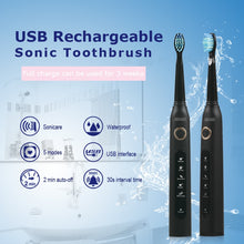 Load image into Gallery viewer, Super Sonic Electric Toothbrush 5 Mode USB Charger - Smart Widget