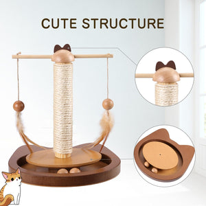 3 in 1 Multifunctional Cat Teasing Toy - Smart Widget
