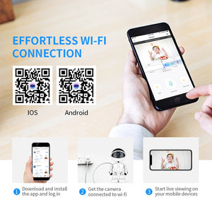Wifi IP Camera 1080P Cloud Home Security IP Camera Robot Intelligent Auto Tracking Camera - Smart Widget