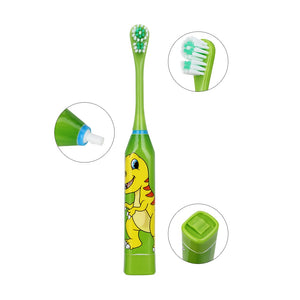 Electric Toothbrush Double-sided Heads For Kids with Soft Replacement - Smart Widget