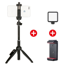 Load image into Gallery viewer, Wireless Bluetooth Selfie Stick Tripod Monopod for iPhone 11 Pro - Smart Widget