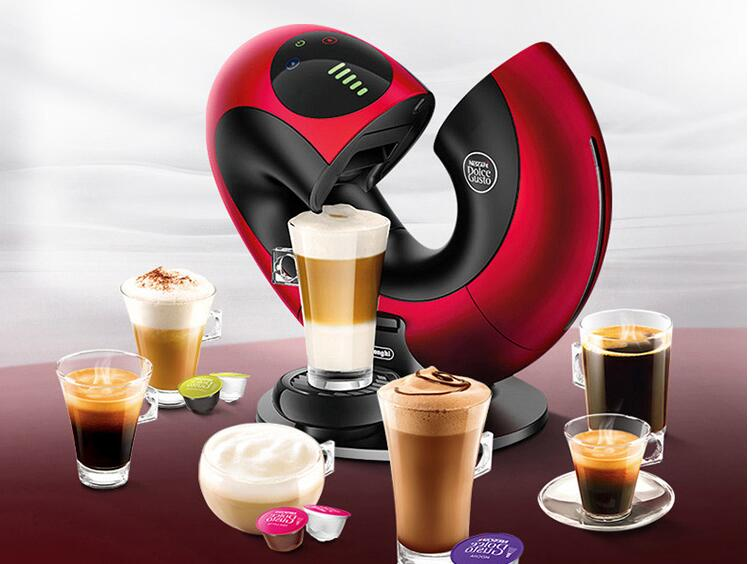 Nestle Nescafe Dolce Gusto 6cups Capsule Coffee Machine EDG736 Household Smart Touch milk foam - Smart Widget