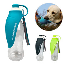 Load image into Gallery viewer, 580ml Dog Travel Water Bottle Dispenser Puppy and Cats - Smart Widget