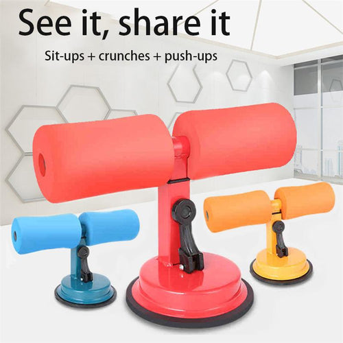 Fitness Suction Cup Sit-Up Cushion Sit Up Stand Bars Abdominal Core - Smart Widget