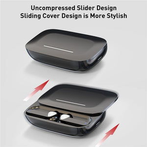 TWS Tap Touch Key Stereo V5.0 Bluetooth Earphone With Slide Charging Box Wireless Headset - Smart Widget