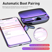 Load image into Gallery viewer, TWS Tap Touch Key Stereo V5.0 Bluetooth Earphone With Slide Charging Box Wireless Headset - Smart Widget
