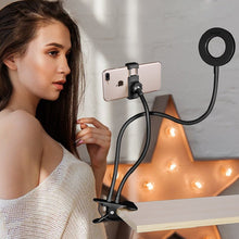 Load image into Gallery viewer, Universal Selfie Ring Light with Flexible Mobile Phone Holder Lazy Bracket Desk Lamp - Smart Widget