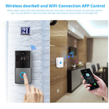 Load image into Gallery viewer, Smart Life Wireless WiFi Video Intercom Doorbell - Smart Widget