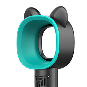 Cute Cat Outdoor Usb Rechargeable Fan Portable Bladeless Fan Handheld Mini Cooler - Smart Widget