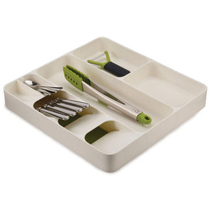 Plastic Knife Holder Drawer Knives Forks Spoons Storage Rack Organizer - Smart Widget