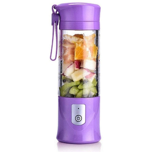 Portable USB Electric Safety Fruit Juice Blender for Travel - Smart Widget