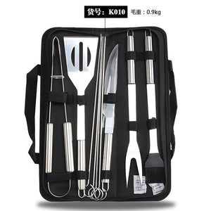 26Pcs Stainless Steel BBQ Tools Set Barbecue Grilling Utensil Accessories - Smart Widget