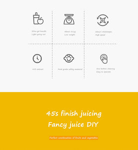 Vitamin Juice Cup Vitamer Portable Juicer V Youth Charging Juice - Smart Widget