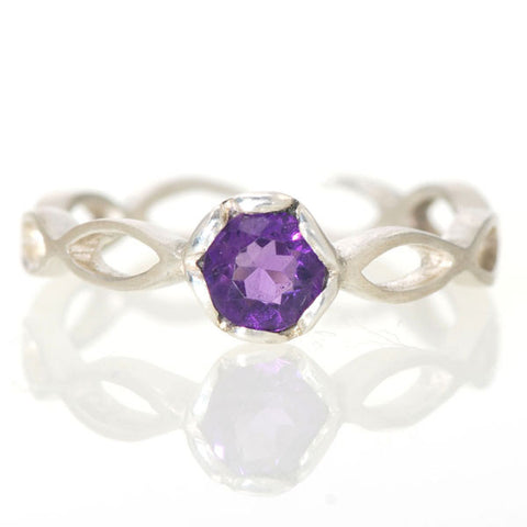Eternity Ring Amethyst