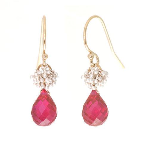 Sprouted Gem Earrings