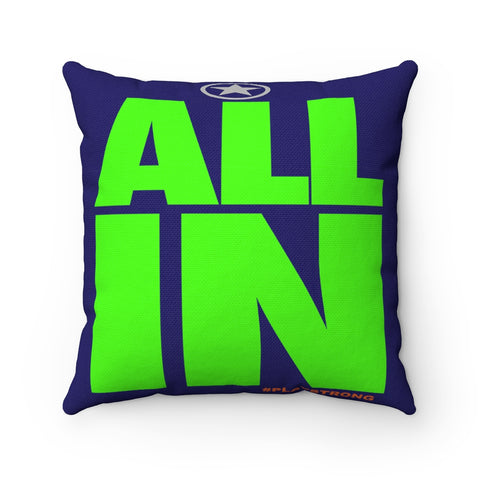 ALL IN Sports PowerWORD Square Pillow