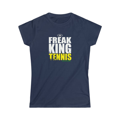 FREAK KING Tennis Women's Softstyle Tee